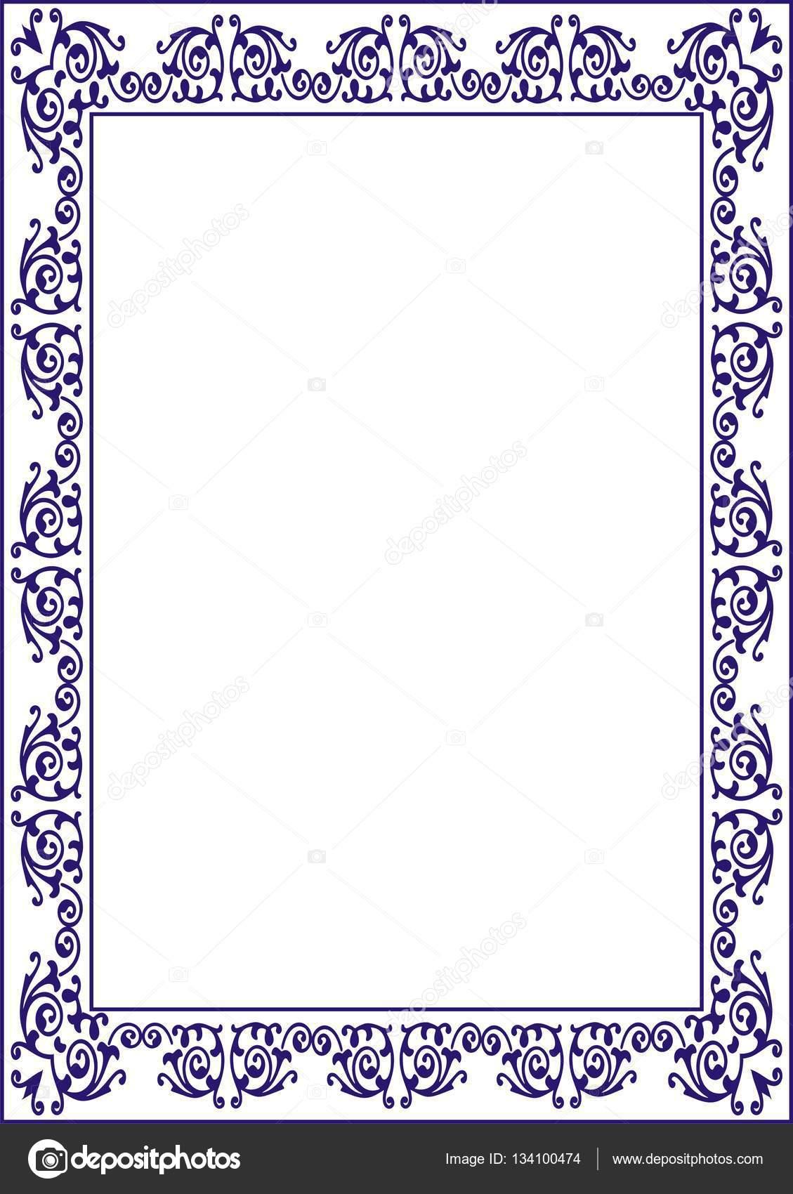 Marco de diploma de certificado — Foto de stock © st481 #134100474