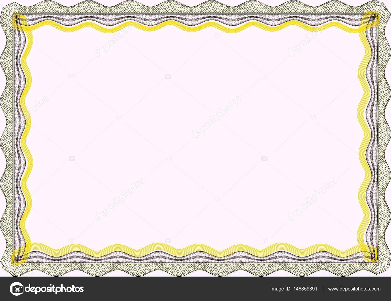 Пустой шаблон frame для сертификата Стоковое фото © st  Пустой шаблон frame для сертификат или диплом Фото автора st481