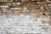 Bela Red Alte Backsteinmauer. Backsteinhintergrund.