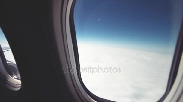 View from airplane, travel concept