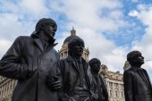 Fotografie Die Beatles-statue