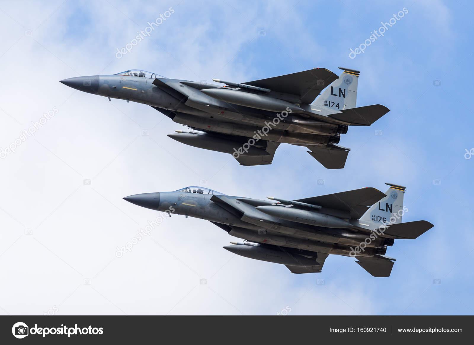 アメリカ空軍 f-15c イーグル ペ...