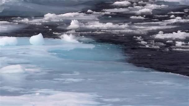 Eisbrocken in der Arktis, Nordpol, Spitzbergen