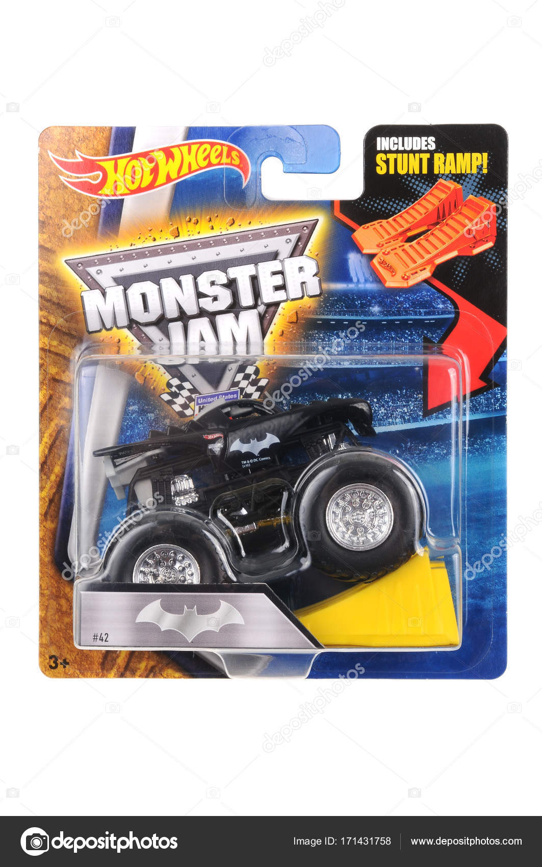 Carros Coleccionables Del Universo Coche De Batman Monster Carro