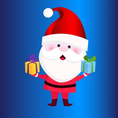 merry Christmas Character stock illustration collection