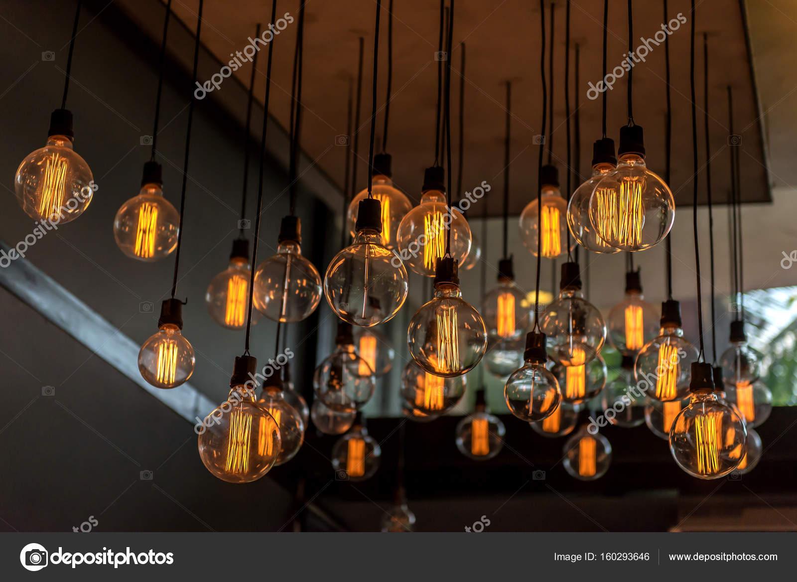 Splendido arredamento vintage illuminazione per interni di edifici