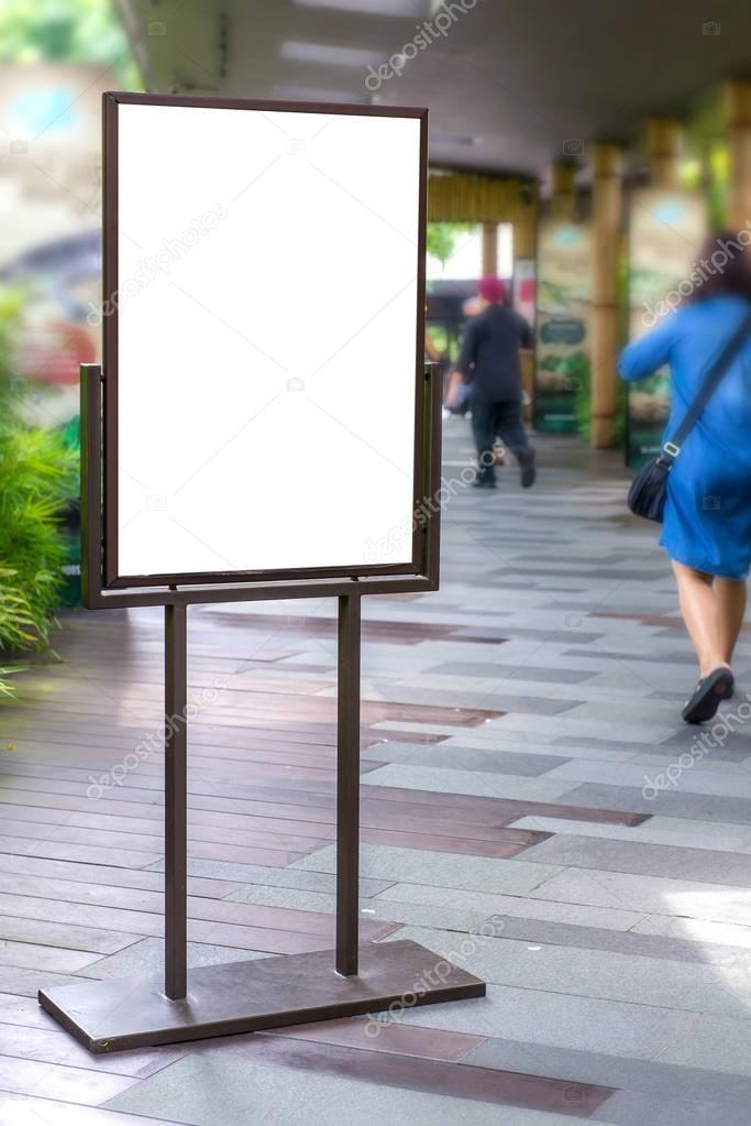 Как называется рекламный щит на ножках фото