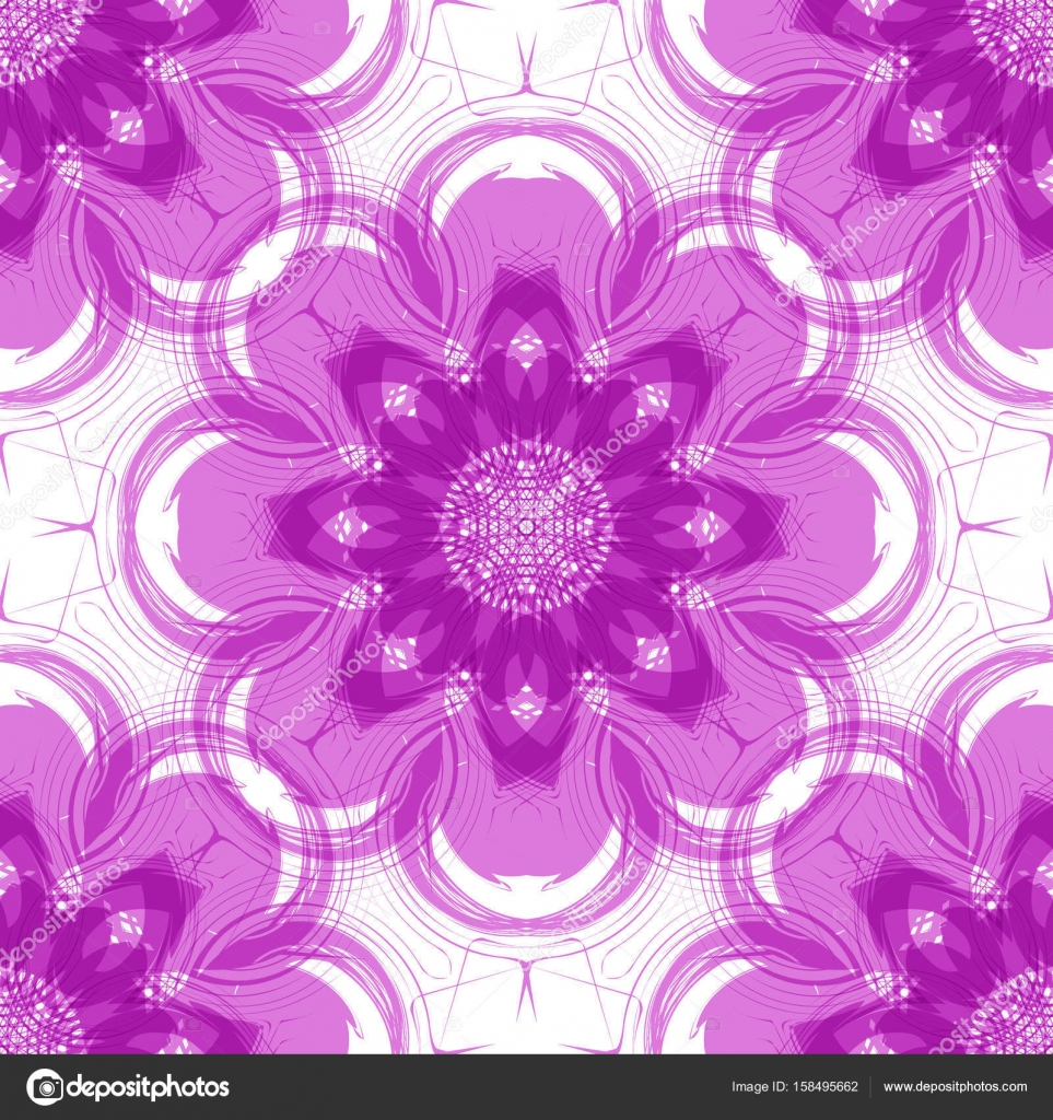 Seamless abstract pattern with large elements in the form of a seamless abstract pattern with large elements in the form of a stylized purple flower modern pattern for wallpaper or textile vector by tanyaplyshka altavistaventures Choice Image
