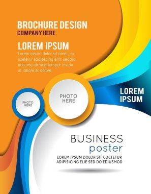 Illustrated business presentation.