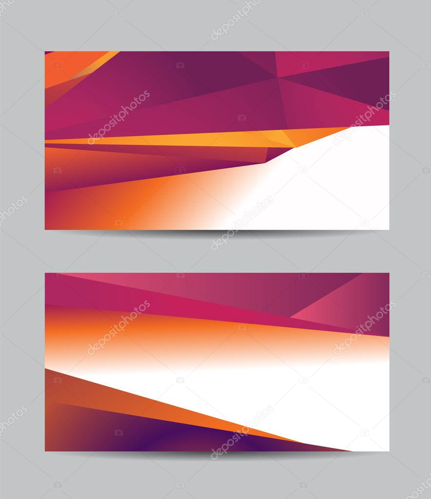 abstract design for business banners