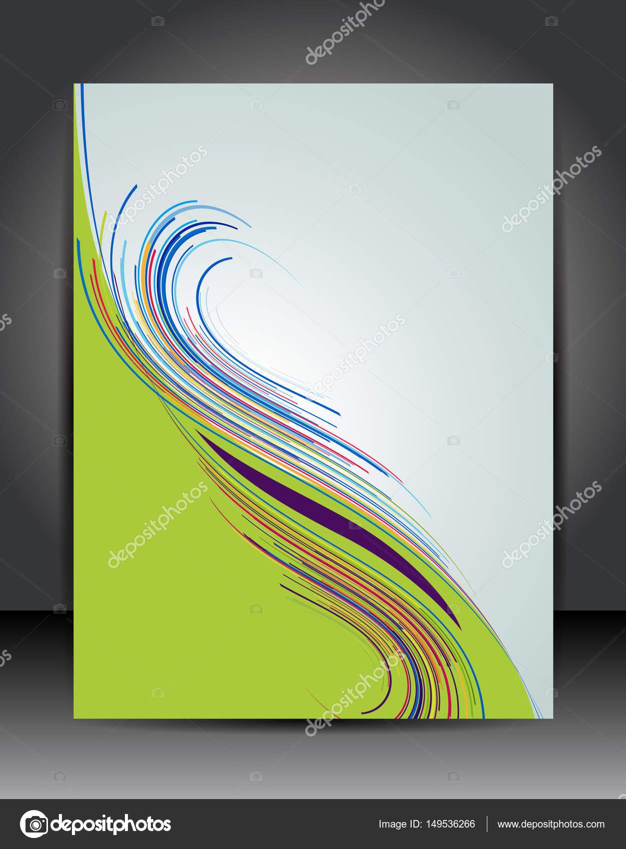 Stilvolle Präsentation Plakat Vorlage — Stockvektor © igordudas ...