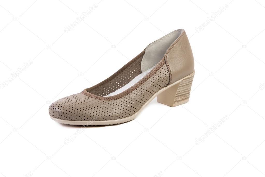 1aa73f3cfd Primavera de sapatos femininos, loja on-line — Fotografia de Stock