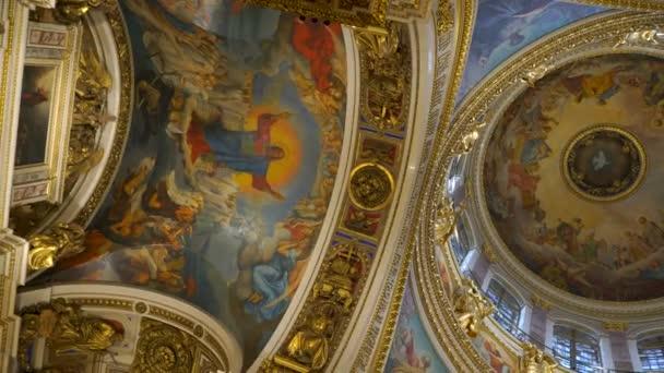 Sankt-Petersburg, Russland-2. Mai 2018, innere Isaacs Kathedrale, Sankt Petersburg, Russland