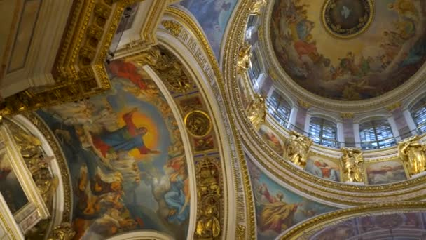 saint-petersburg, russland - mai 02 2018, innenraum der isacs-kathedrale, saint-petersburg, russland