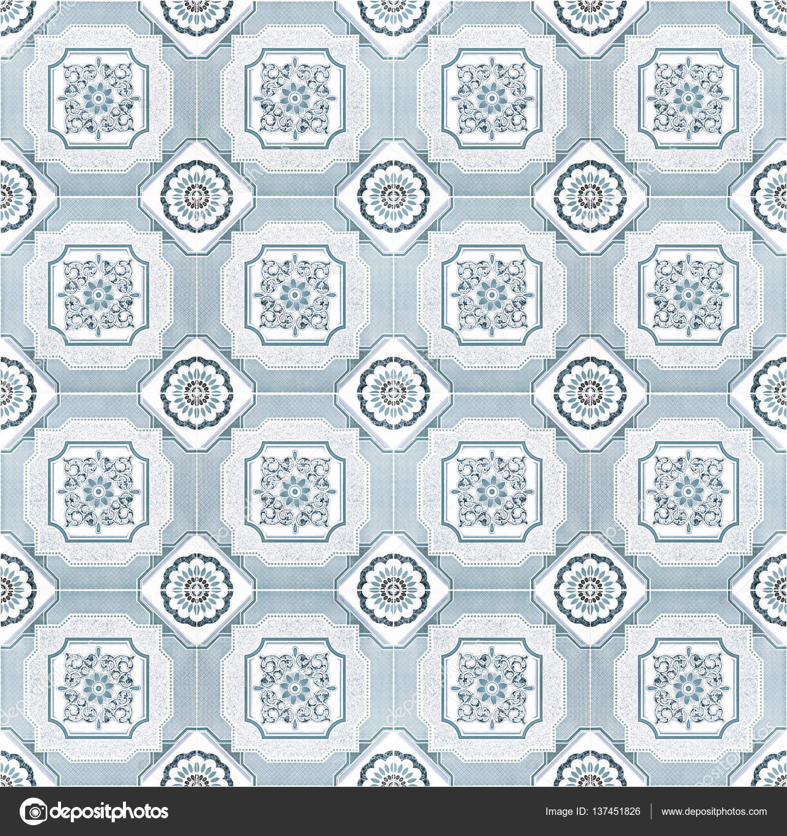 Pattern floor tile gray color for background — Stock Photo ...