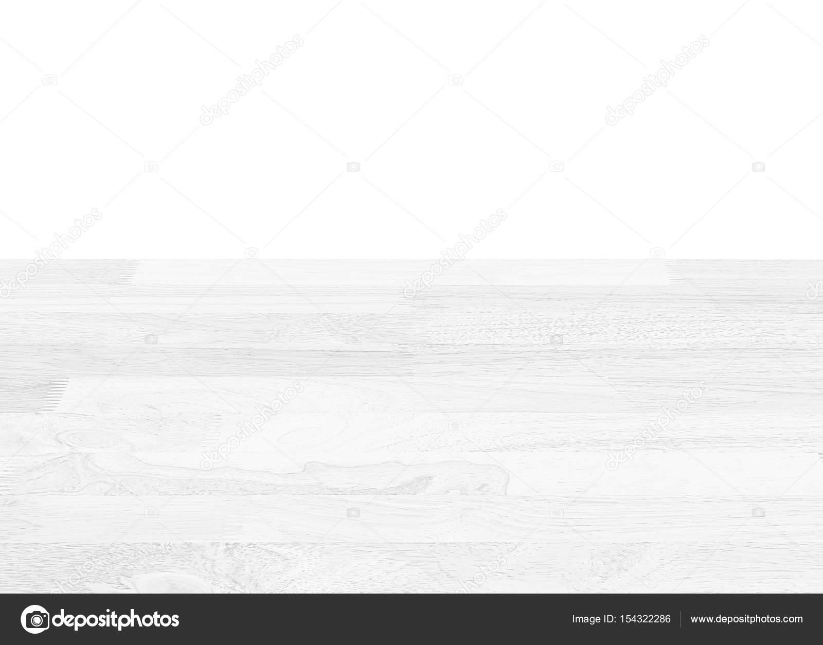 Weisse Holz Balkon Boden Balken Auf Weissem Hintergrund Stockfoto