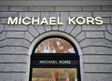 Facade of Michael Kors flagship store