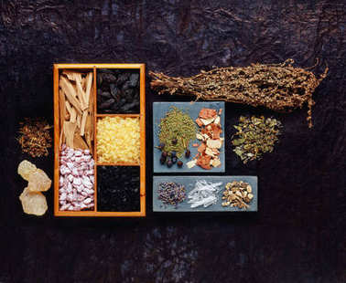 various incense resins