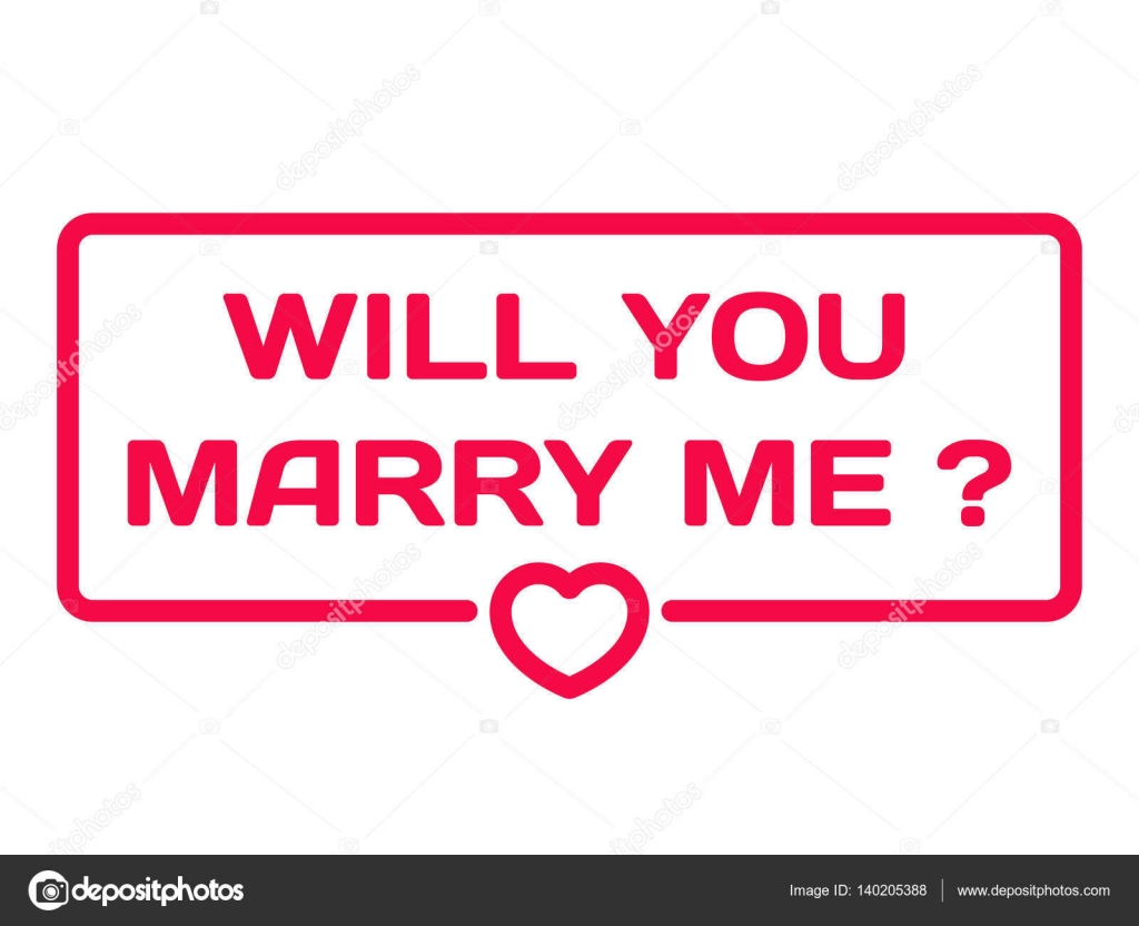 Will u marry me quotes | Will You Marry Me badge with heart ...