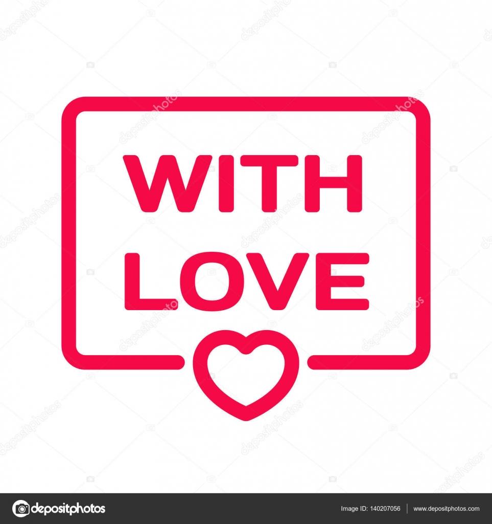 Z Miłość Odznaka Z Serca Ikona Płaskie Wektor Ilustracja Na Białym