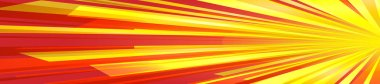 Effect motion lines for comic book and manga. Sunbeams with effect explosion. Template for web and print design. Vector