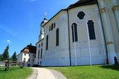 Fotografie Weiße Wallfahrt Kirche-Wieskirche in Beieren Deutschland