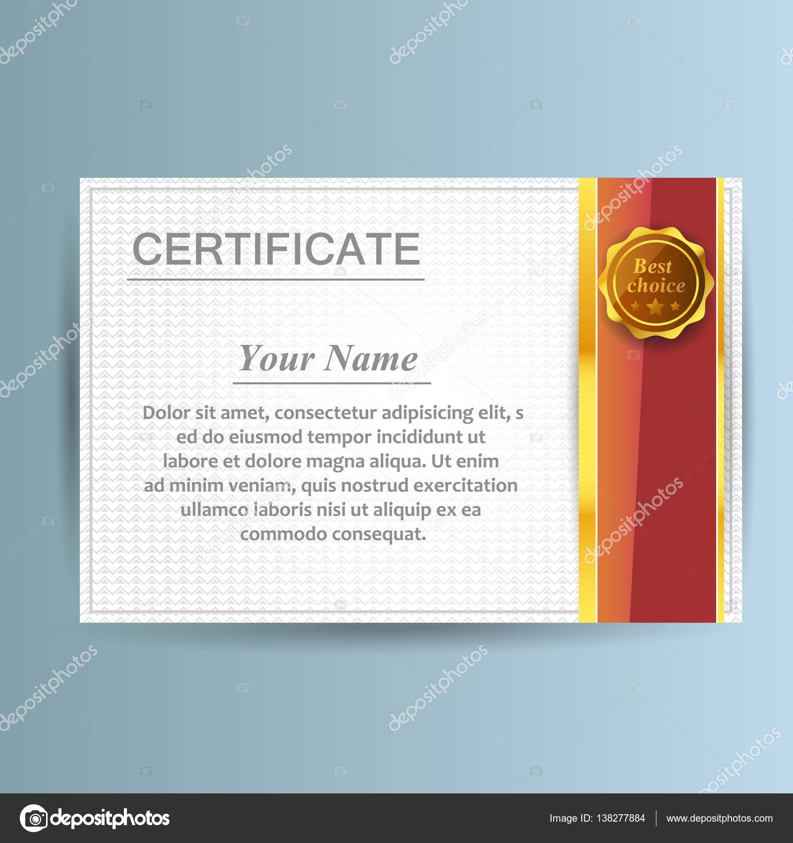 Vector certificate template design business award solution stock vector certificate template design business award solution stock vector cheaphphosting Images