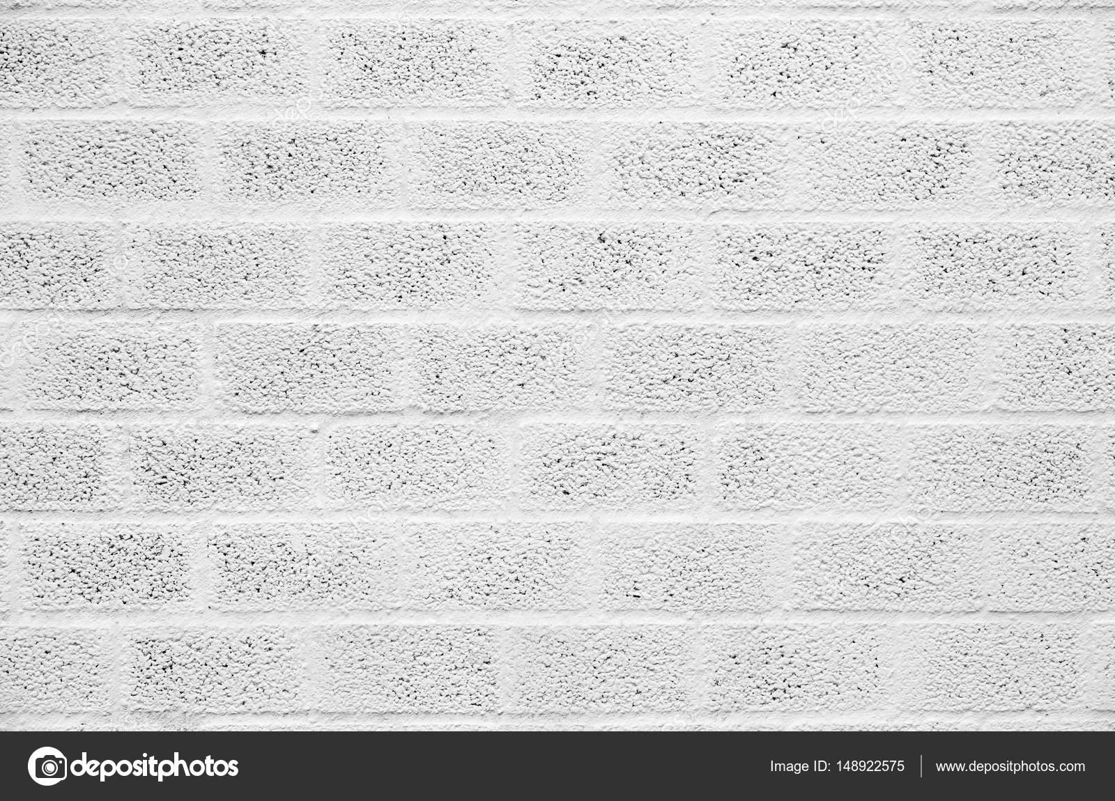 Bloques De Hormigon Pintados Blanco Pintado Pared Bloques De - Ladrillo-de-hormigon