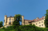 Hohenschwangau castle in the Bavarian Alps, Germany.