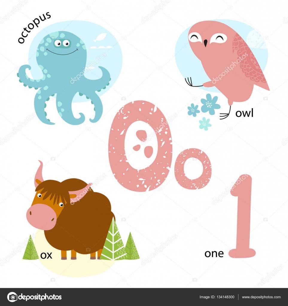 Famosos Ilustração vetorial para ensinar as crianças o alfabeto Inglês com  YX58