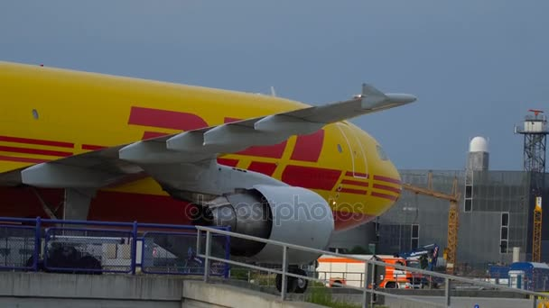DHL Airbus A310 on taxiway