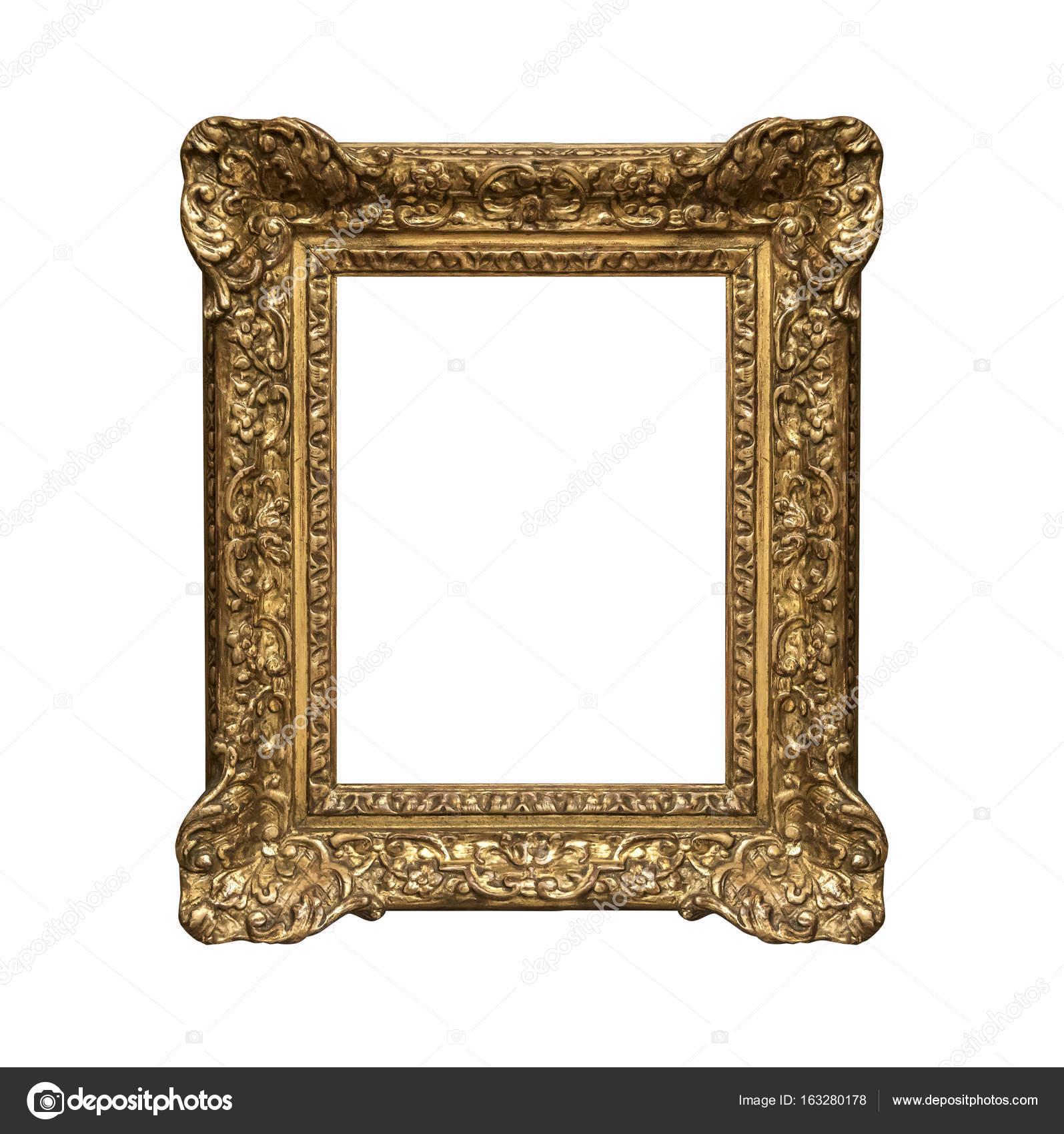 alte goldener Rahmen — Stockfoto © believeinme #163280178