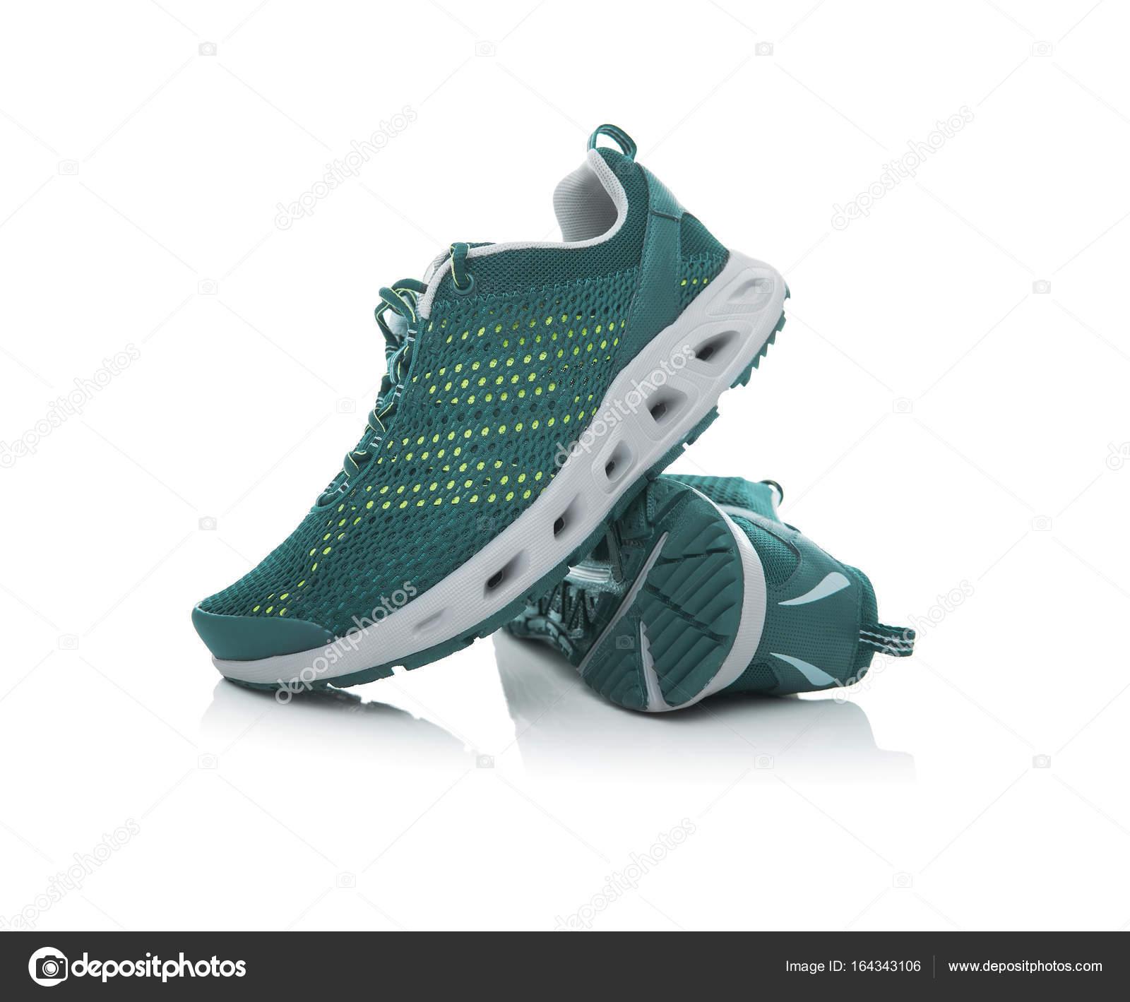Aislados Sobre Zapatillas Marca Deporte Fotos Sin Fondo Blanco— De XTOZiuPk