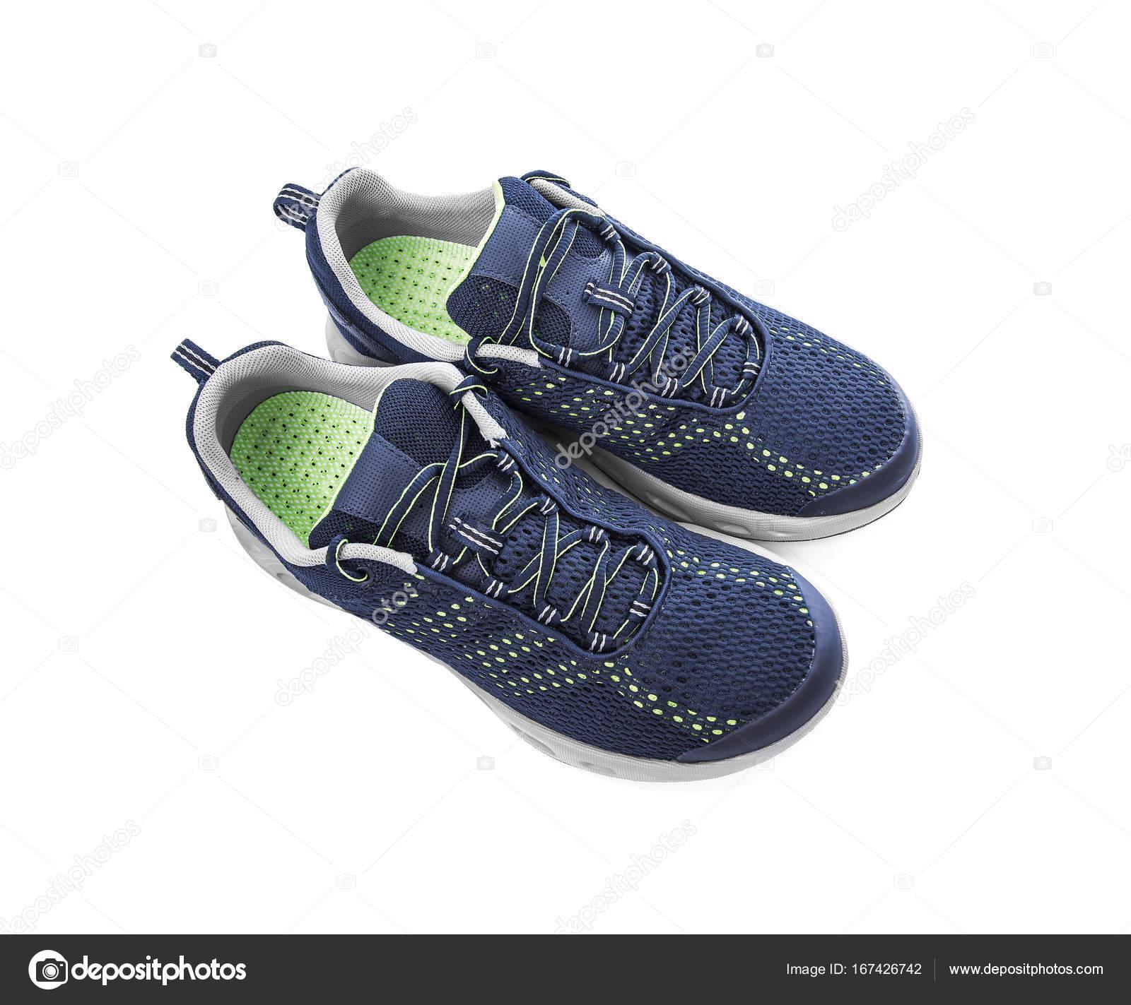 prezzo più basso 12e6a c1e2f Non di marca scarpe da ginnastica isolati su sfondo bianco ...