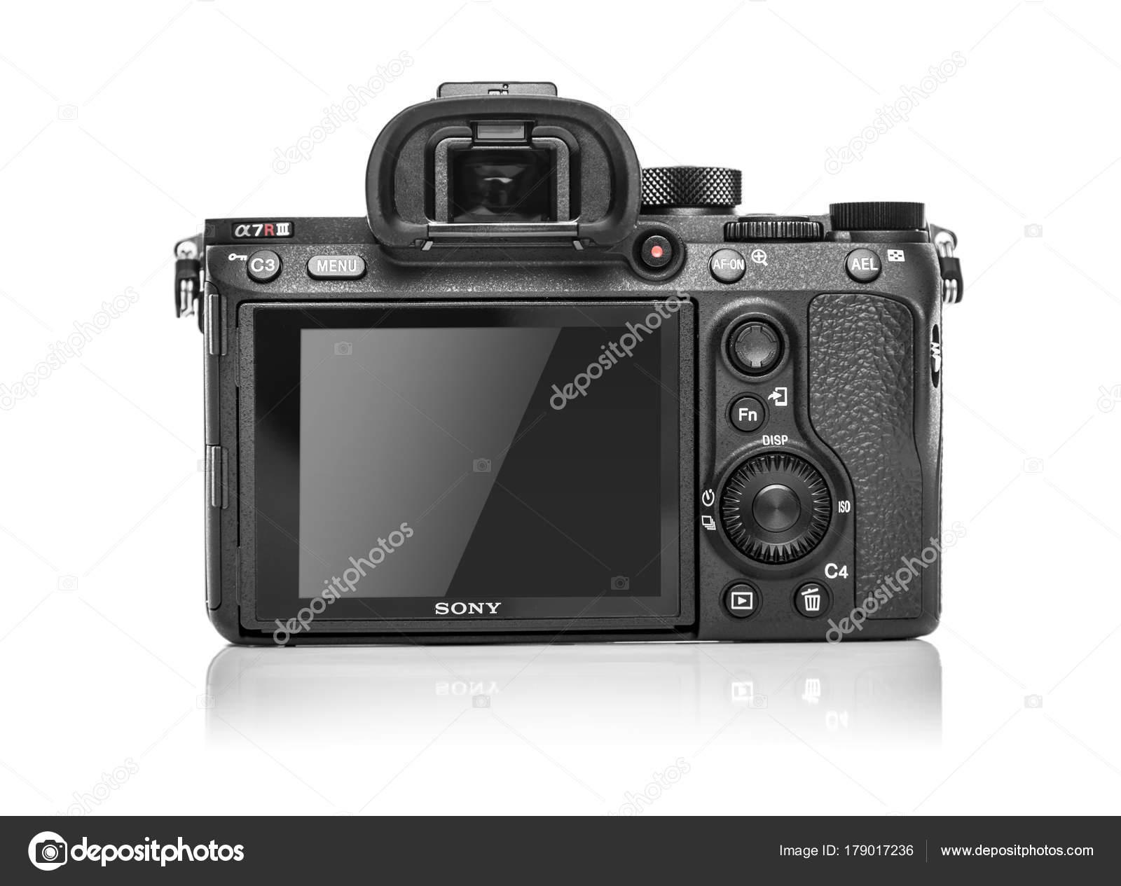 Sony Alpha a7r Iii Cámara Digital sin espejo — Foto editorial de ...