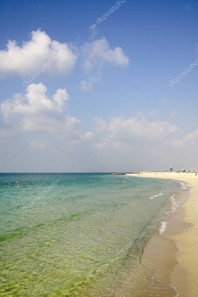 Beach in Dubai, UAE, Asia