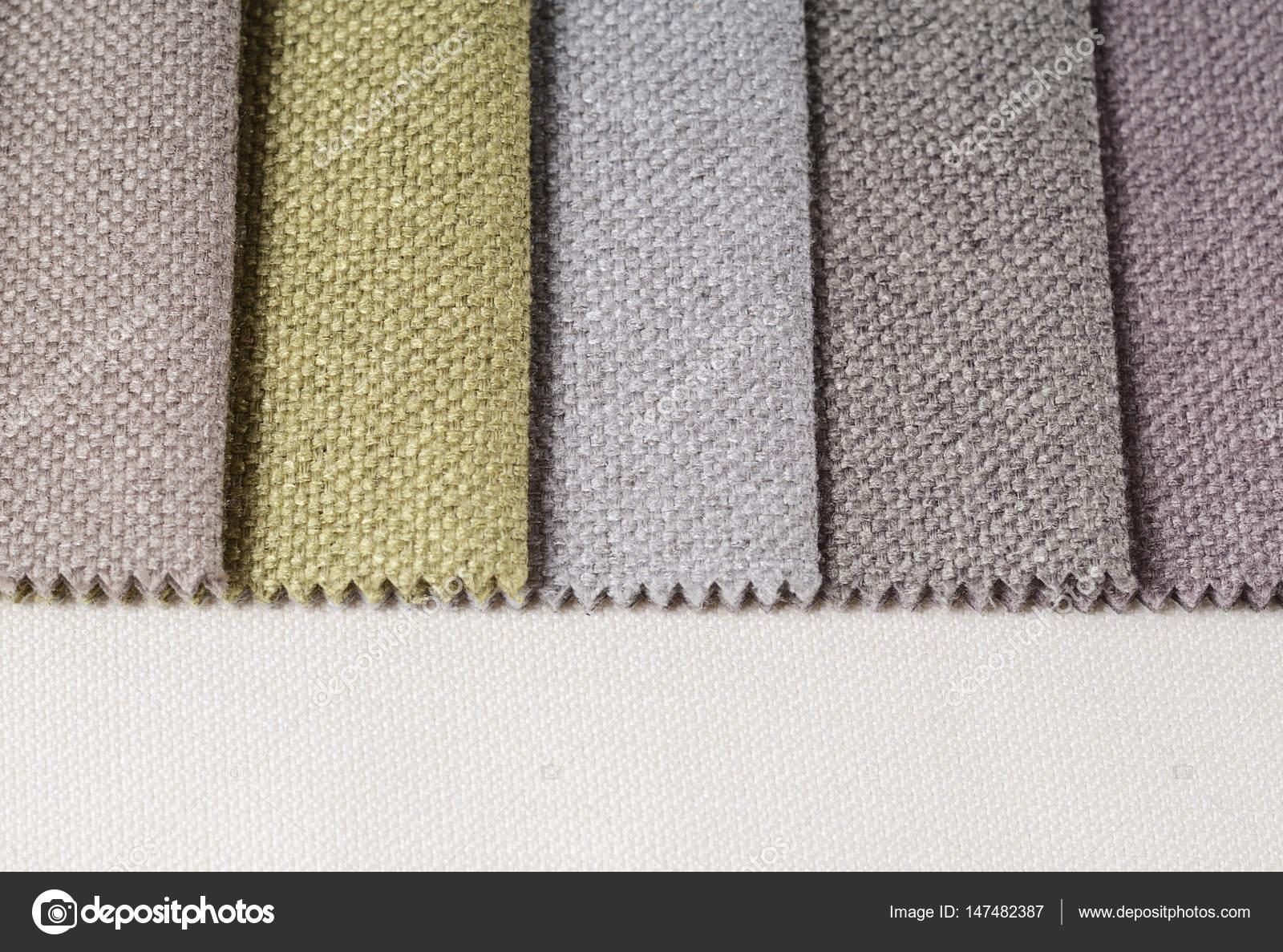 dff6a71e1 Brillante colección de muestras textiles de yute. Fondo de textura de tela  multicolor — Foto de ...