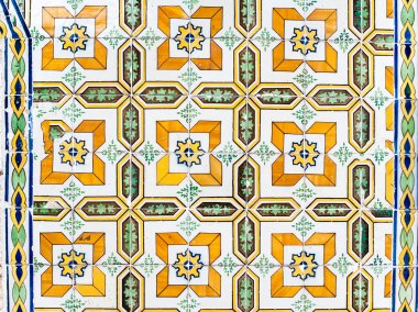 Detail of traditional tiles