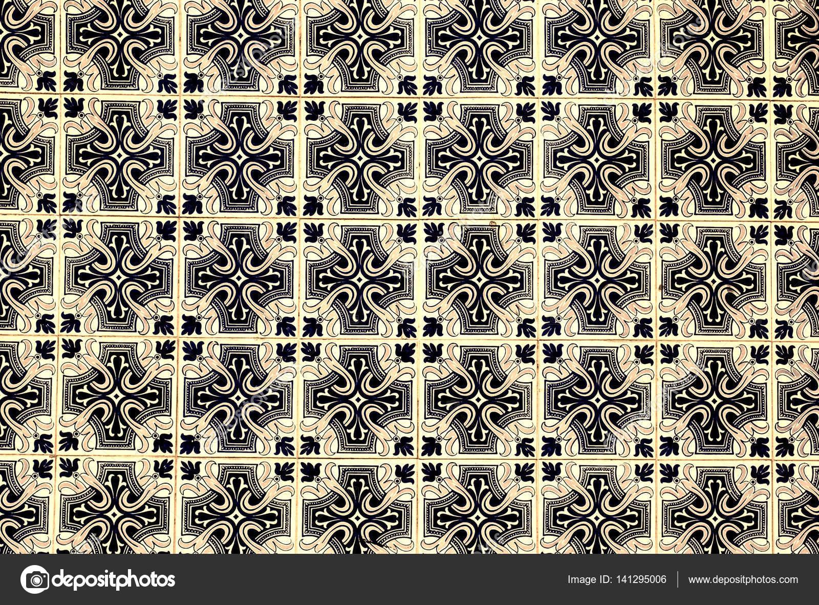 Ornamenti di piastrelle tipiche del marocco u2014 foto stock © zakharova
