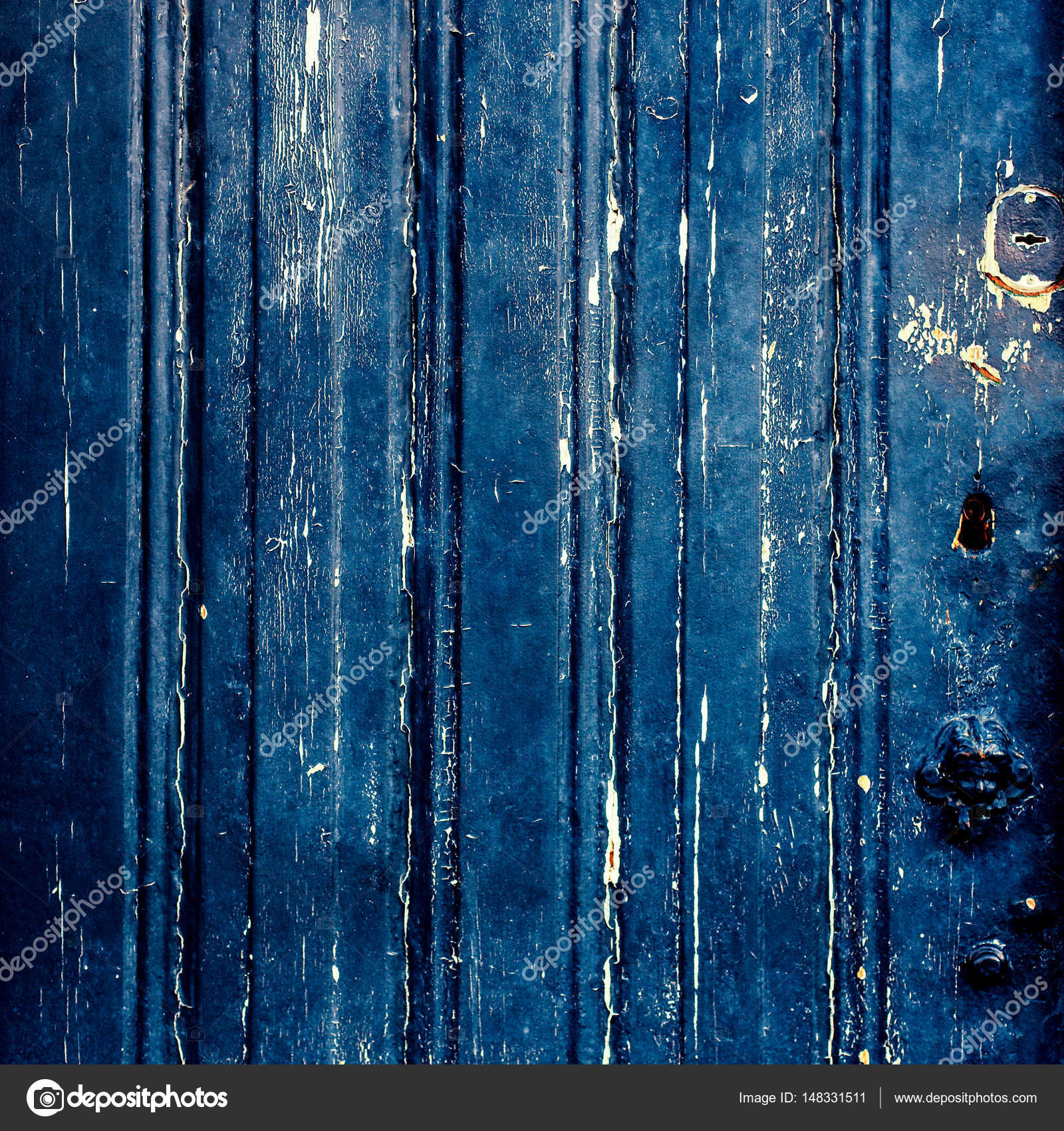 Dark blue grunge background texture — Stock Photo ...