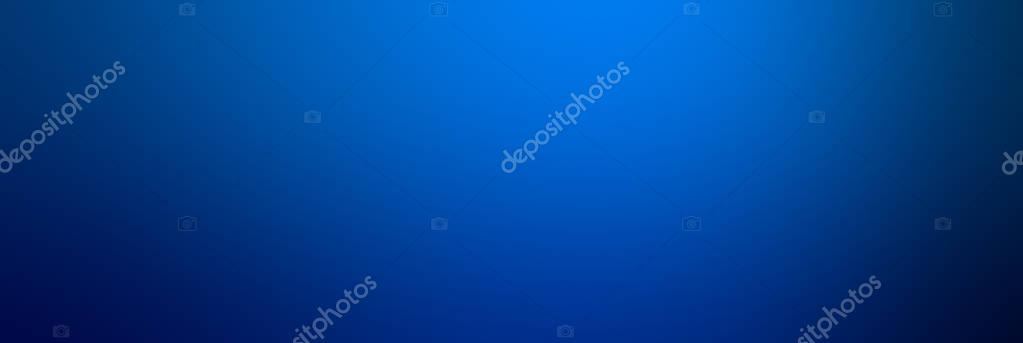 Abstract Blue color Smooth gradient background.