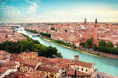 Fotografia Bridge Ponte Pietra in Verona