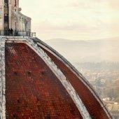Fotografie Blick auf malerische Kathedrale Santa Maria del Fiore in Florenz, Italien