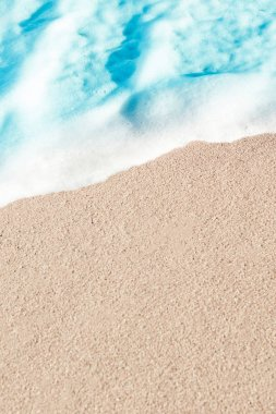 Soft Wave of Blue ocean