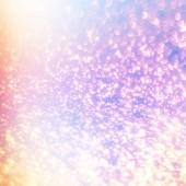 Magické svítící pozadí s rainbow mesh. Fantazie jednorožec grad