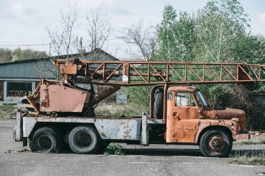 Crain Truck wreck
