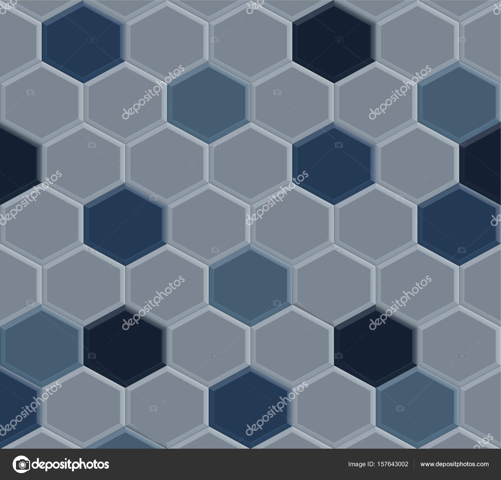 old hexagon blue tile — Stock Vector © chartcameraman #157643002