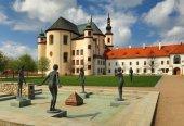 Litomyšli klášter v Čechách