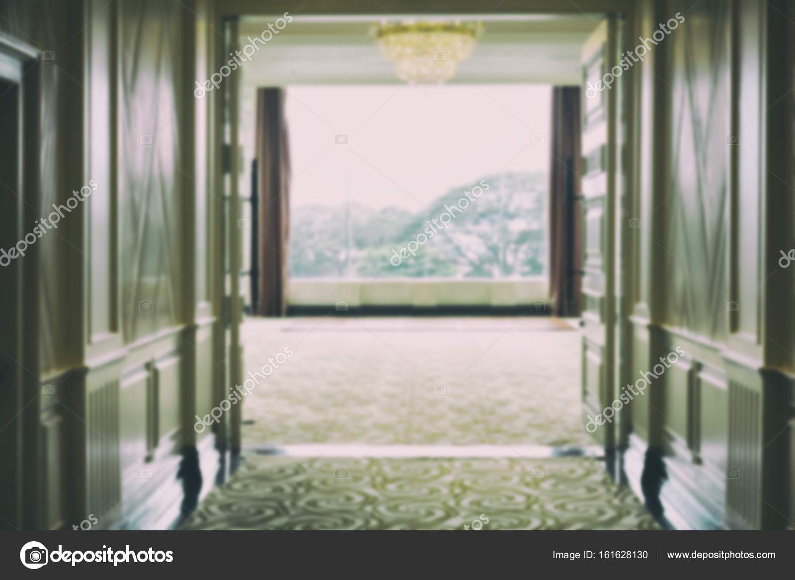 Hotel Interior Banquet Hall Luxury Room For The Wedding Party Stock Photo C Psisaa 161628130