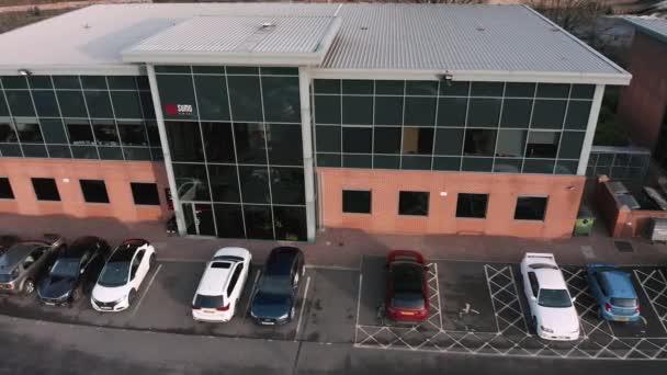 Sheffield, Vereinigtes Königreich - 16. Dezember 2019: Sumo-Digitalbüros in Sheffield, Luftaufnahmen. Unabhängiger Spieleentwickler